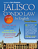 Jalisco Condo Manual in English Book Cover